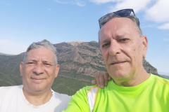 Pessebre / belén del Mas Manader (Mas Moneder) en la Serra de Rubió