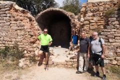 Ruinas de la ermita de Sant Pau Vell