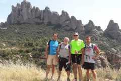 La región de Agulles de Montserrat desde Sant Pau Vell
