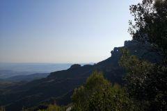 Hacia la Roca Foradada y la Cadireta d'Agulles