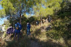 Barraca de piedra seca en el Corriol / sendero del Gat hacia Collbató