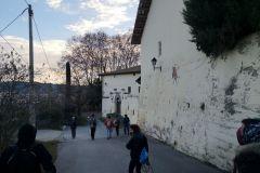 Masía de Can Cordelles hacia el camino de les Hortes (escalerillas)