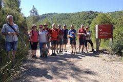 Entrada al Parc Natural de Sant LLorenç del Munt i l'Obac