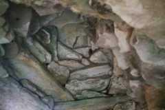 Interior ábside de una de las Tinas