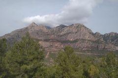 Montserrat desde el Capbrot de Rubió