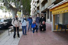 Inicio de la ruta; bar Bona Tapa en Esparreguera