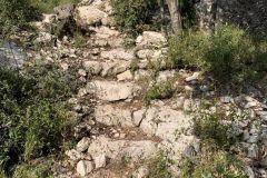 Escalera de piedra de les Obagues