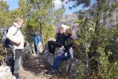 Cadira del Gegant en la Roca dels Corbs