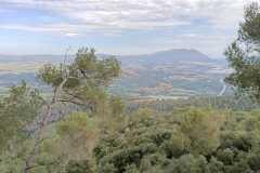 Panorámica hacia Martorell, desde la parte superior del recinto del Castell de Sant Jaume