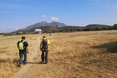 Hacia la masía de Can Sant Joan