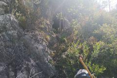 Boca de entrada a la cova del Senecó