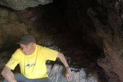 Interior de la cova del Senecó