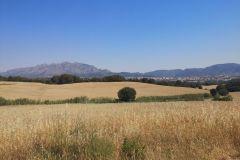 Panorámica de Esparreguera, Collbató y Montserrat