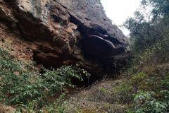 LLegada a la balma o cova del Pons