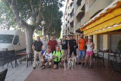 Bar Bona Tapa en Esparreguera; hacia los vehículos y camino al monasterio de Montserrat