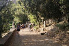 Camino hacia las ermitas de Sant Miquel, Sant Joan y Sant Onofre