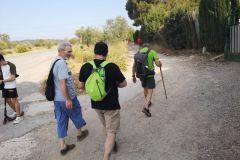 Inicio del camino vecinal Esparreguera - Collbató (desballestaments Esparreguera)