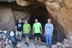 Correcamins de CanCum en la boca de la cova Gran