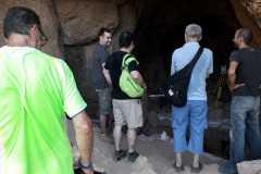 LLegada a la cova Gran