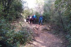Corriol / sendero del Pont hacia Collbató