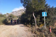 Camino Vecinal Esparreguera - Collbató; toma de agua ADF / bomberos