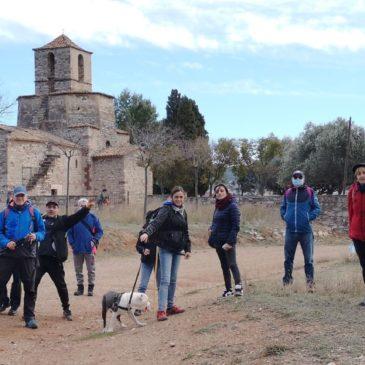 Ermita de Santa Maria del Puig por les Bramones y la font de la Barona – domingo 31/01/2021